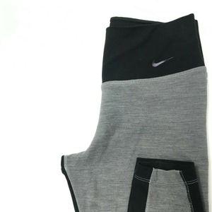 Nike Legendary Dri-Fit Grey Wool Leggings XS